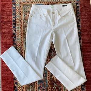C. Wonder White Skinny Jeans